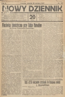 Nowy Dziennik. 1927, nr167