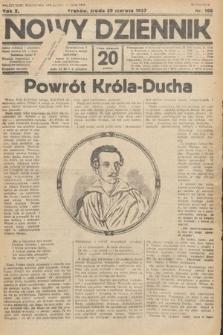 Nowy Dziennik. 1927, nr168
