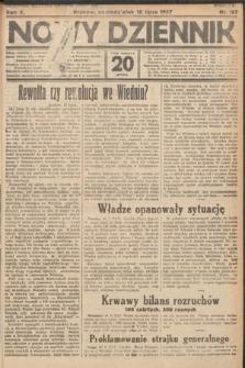 Nowy Dziennik. 1927, nr187