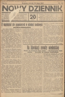 Nowy Dziennik. 1927, nr188