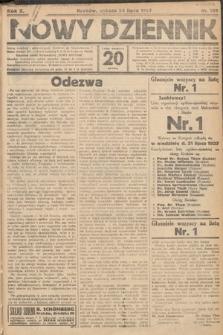 Nowy Dziennik. 1927, nr199