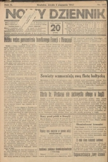 Nowy Dziennik. 1927, nr203
