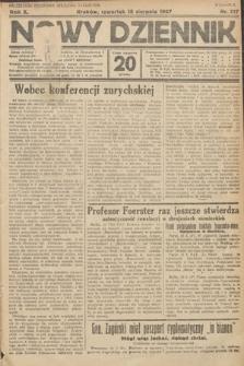 Nowy Dziennik. 1927, nr217