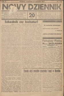 Nowy Dziennik. 1927, nr220