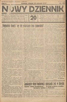 Nowy Dziennik. 1927, nr222