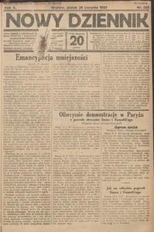Nowy Dziennik. 1927, nr225