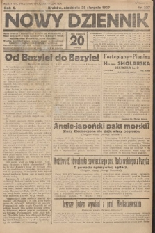 Nowy Dziennik. 1927, nr227