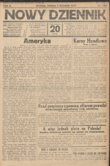 Nowy Dziennik. 1927, nr233