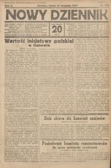 Nowy Dziennik. 1927, nr244
