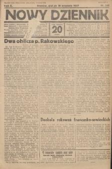 Nowy Dziennik. 1927, nr246