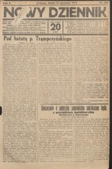 Nowy Dziennik. 1927, nr251