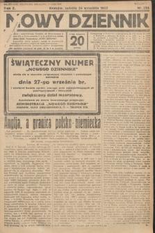 Nowy Dziennik. 1927, nr254