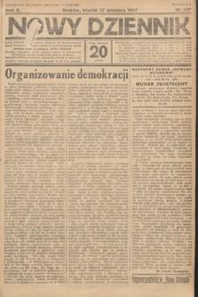 Nowy Dziennik. 1927, nr257