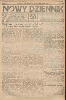 Nowy Dziennik. 1927, nr262
