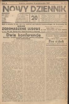 Nowy Dziennik. 1927, nr273