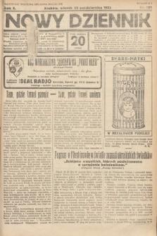 Nowy Dziennik. 1927, nr281
