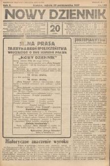 Nowy Dziennik. 1927, nr285