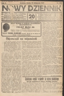 Nowy Dziennik. 1927, nr303