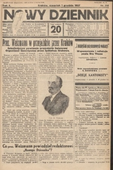 Nowy Dziennik. 1927, nr318
