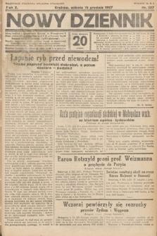 Nowy Dziennik. 1927, nr327