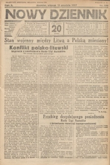 Nowy Dziennik. 1927, nr330