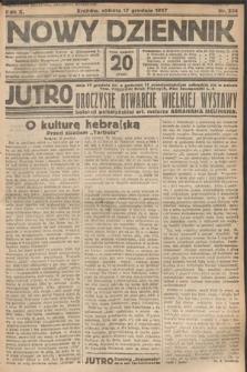 Nowy Dziennik. 1927, nr334