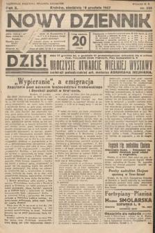 Nowy Dziennik. 1927, nr335