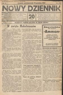 Nowy Dziennik. 1927, nr336