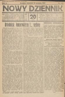 Nowy Dziennik. 1927, nr344