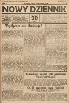 Nowy Dziennik. 1928, nr18