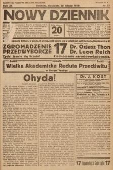 Nowy Dziennik. 1928, nr57