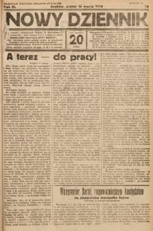 Nowy Dziennik. 1928, nr76