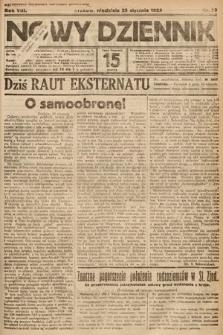Nowy Dziennik. 1925, nr20