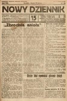 Nowy Dziennik. 1925, nr34