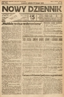 Nowy Dziennik. 1925, nr43
