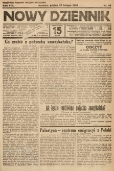 Nowy Dziennik. 1925, nr48
