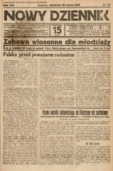 Nowy Dziennik. 1925, nr74