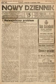 Nowy Dziennik. 1925, nr83
