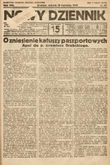 Nowy Dziennik. 1925, nr87