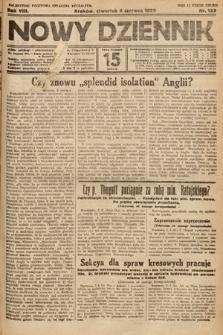 Nowy Dziennik. 1925, nr123