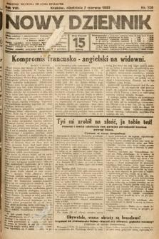 Nowy Dziennik. 1925, nr126