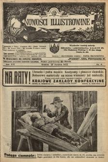 Nowości Illustrowane. 1922, nr4