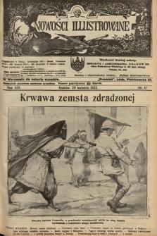 Nowości Illustrowane. 1922, nr17