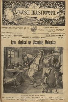 Nowości Illustrowane. 1922, nr36