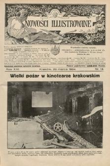 Nowości Illustrowane. 1924, nr13