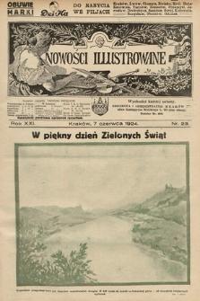 Nowości Illustrowane. 1924, nr23
