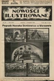 Nowości Ilustrowane. 1924, nr44