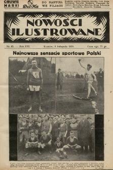 Nowości Ilustrowane. 1924, nr45
