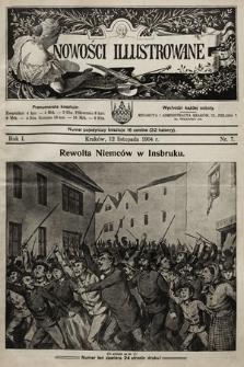 Nowości Illustrowane. 1904, nr7