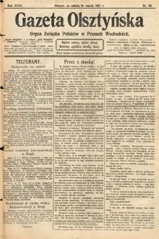 Gazeta Olsztyńska : organ Związku Polaków wPrusach Wschodnich. 1921, nr59